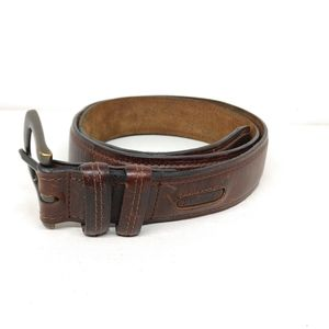 Columbia Brown Leather Belt 38